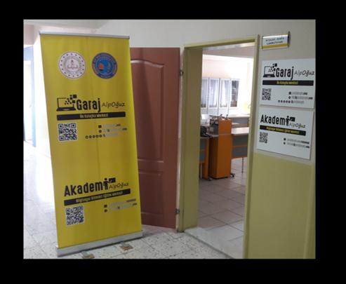 Garaj Alp Oğuz Ön Kuluçka Merkezi İzmir Aliağa Alp Oğuz Anadolu Lisesi